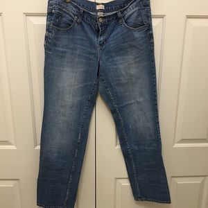 Gap slim boyfriend jeans 14 no stretch